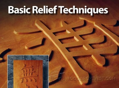 92-Basic Relief Techniques-Carving Projects and Techniques