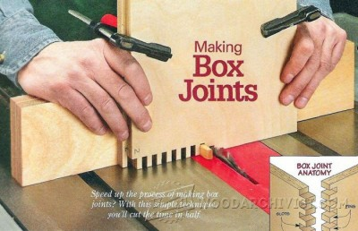 95-Box Joints - Joinery Tips, Jigs and Techniques