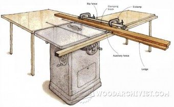 186-Table Saw Fence Extension - Table Saw Tips, Jigs and Fixtures