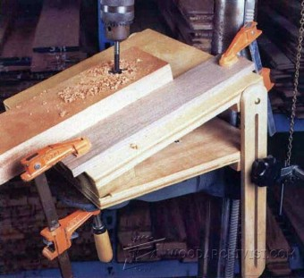 195-Drill Press Tilt Table - Drill Press Tips, Jigs and Fixtures