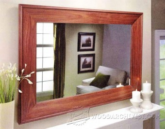 200-Walnut Mirror Frame - Plans and Projects
