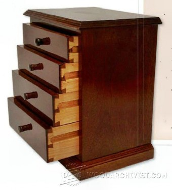 207 Miniature Chest of Drawers Plans