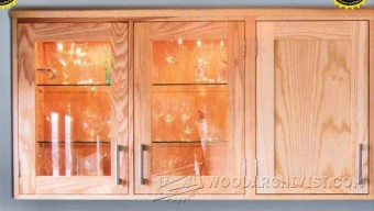 221 Kitchen Wall Cupboard Plans