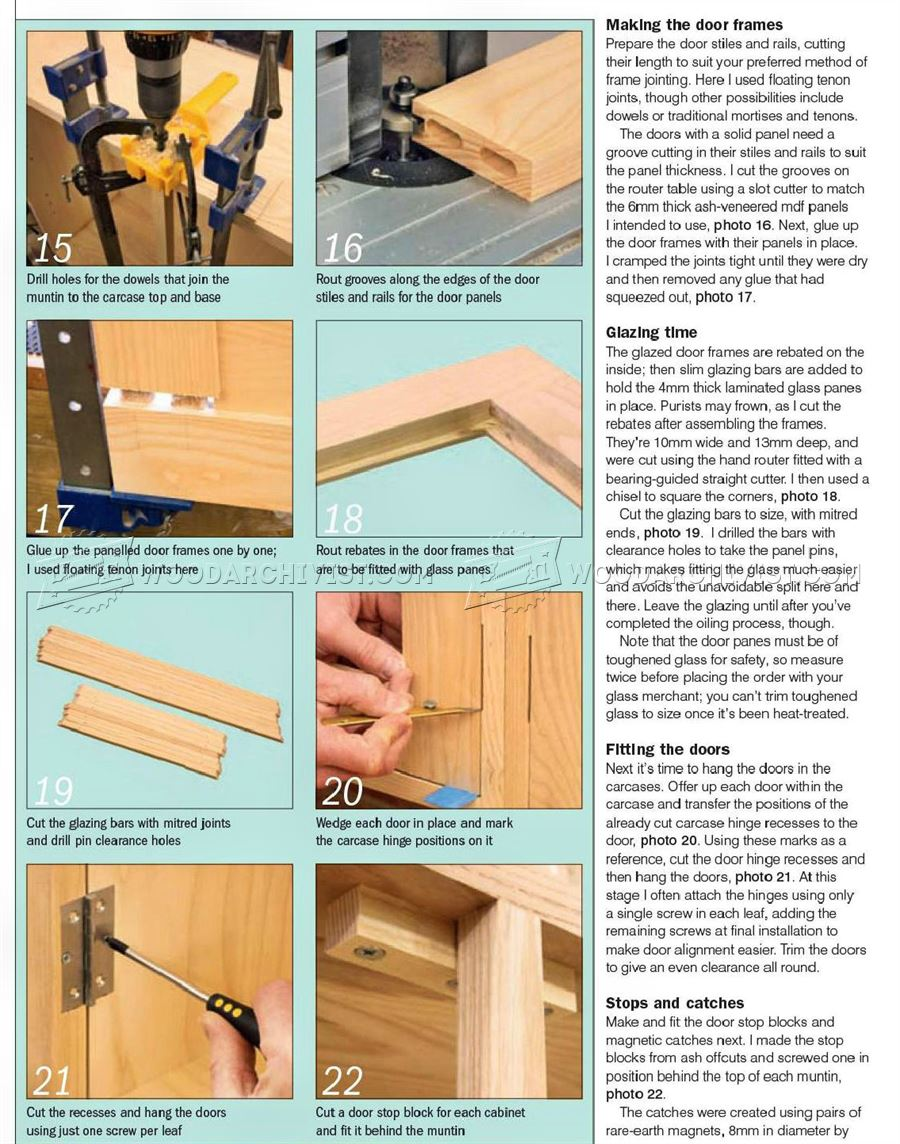 Kitchen Wall Cupboard Plans
