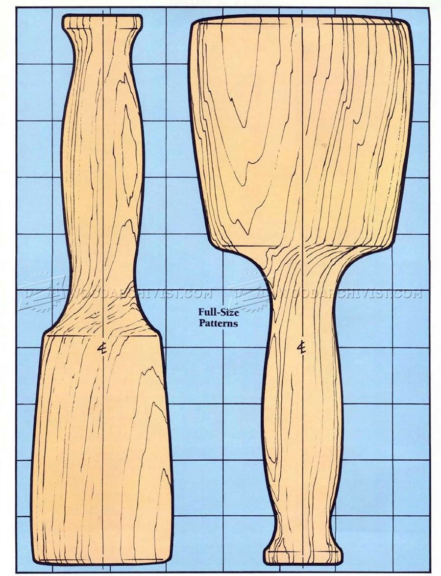 Wooden Mallet Plans