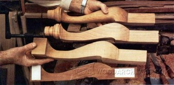229 Shaping Cabriole Legs