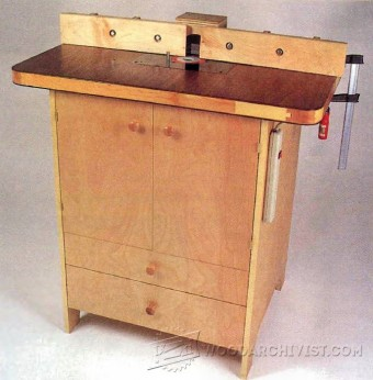233 Practical Router Table Plans