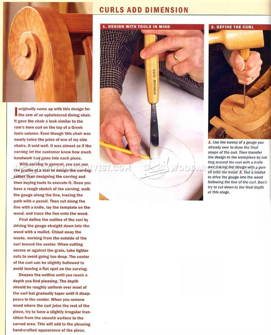 Carving Furniture - Wood Carving Patterns