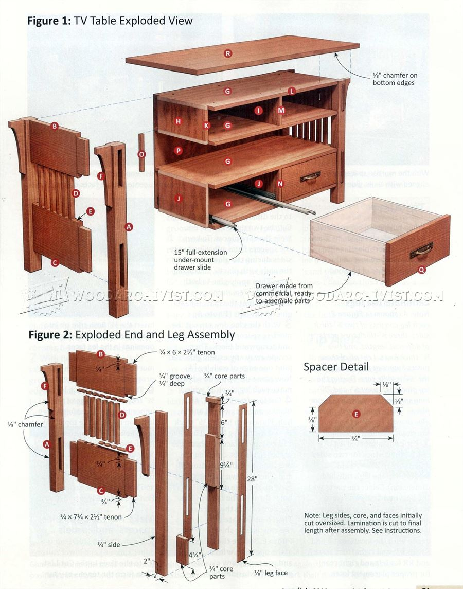 Arts and crafts furniture plans for Arts and crafts furniture plans