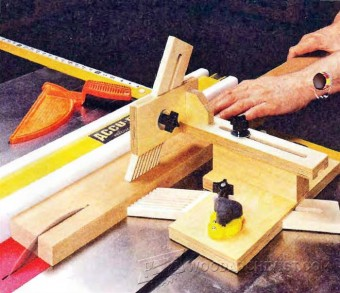 242 Table Saw Featherboard Jig