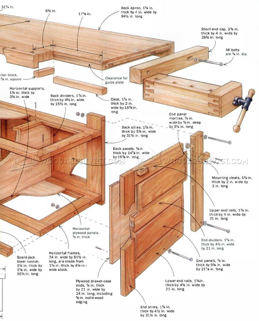 Rock-Solid Workbench Plans
