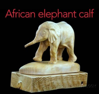 248 Elephant Carving - Wood Carving Patterns