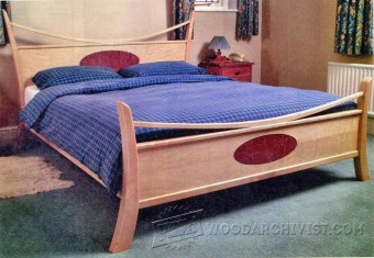 249 Maple Bed Plans