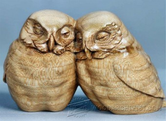 255 Owl Carving - Wood Carving Patterns