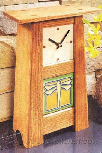 259 Craftsman Clock Plans