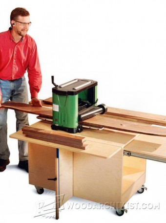268 Planer Stand Plans