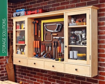 273-Shop Solutions Plans & Projects-Pegboard Tool Cabinet