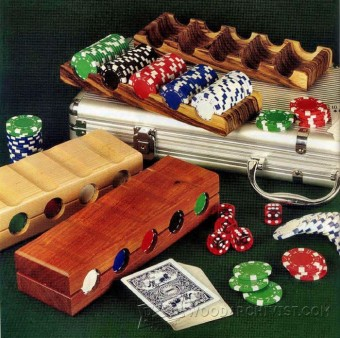 277-Plans & Projects-Poker Chip Tray