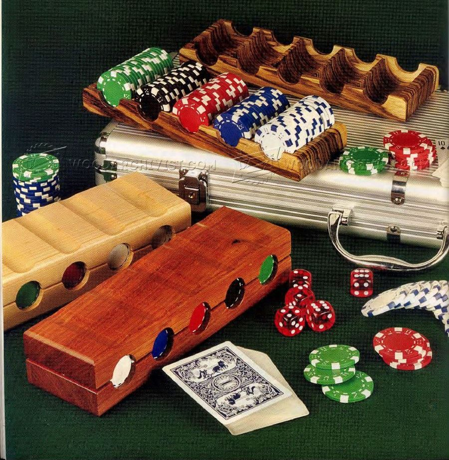 Poker Chip Tray Plans