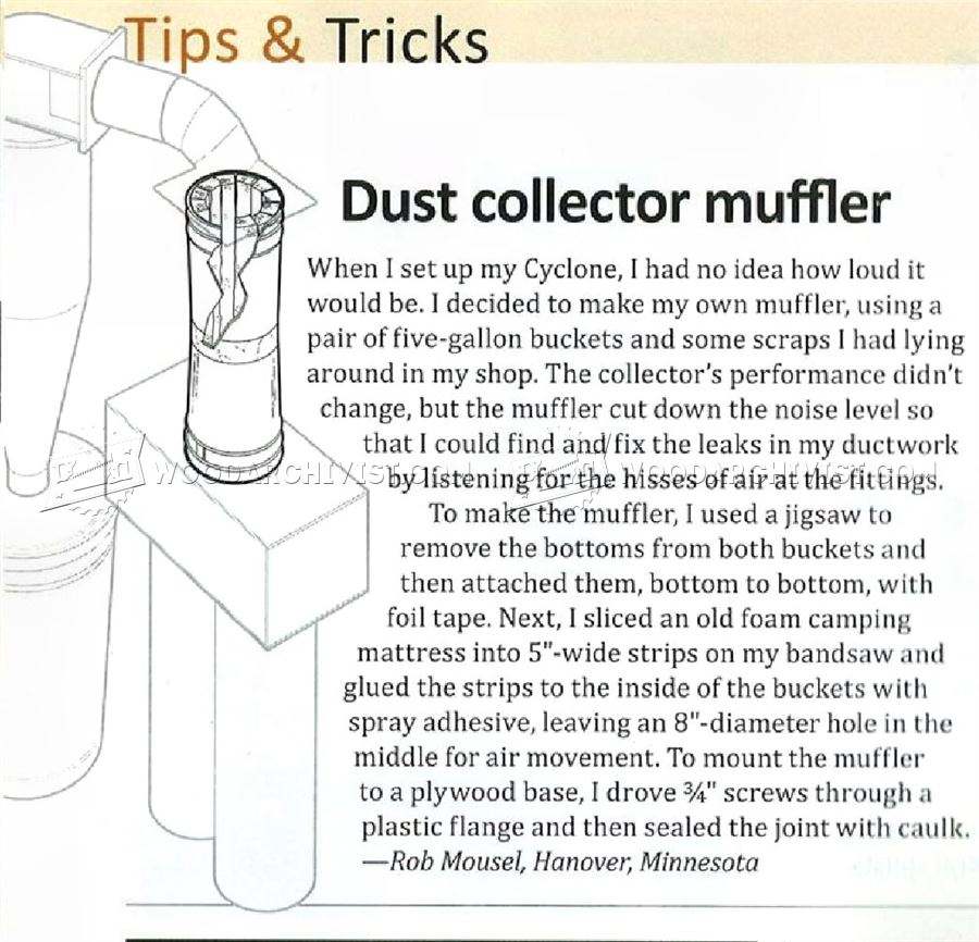 Dust Collector Muffler