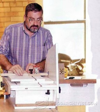 292-Horizontal Router Table Plans