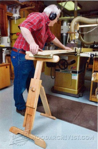 297-Adjustable Roller Stand Plans
