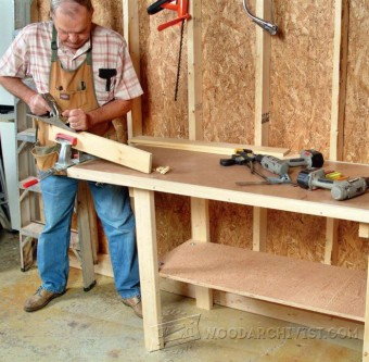 300-Simple Workbench Plans