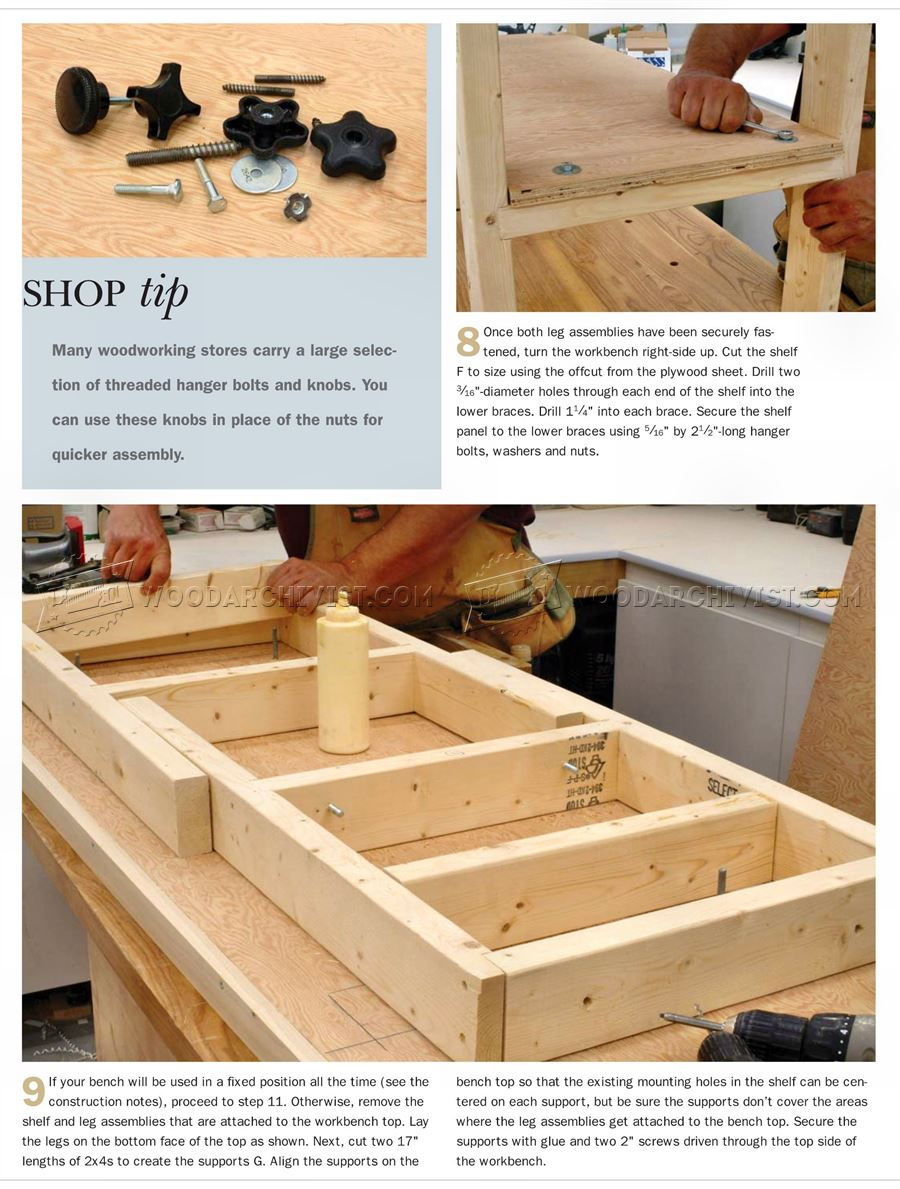 Fantastic Table Work Bench Plans How To Build A Workbench Snapguide Machost Co Dining Chair Design Ideas Machostcouk