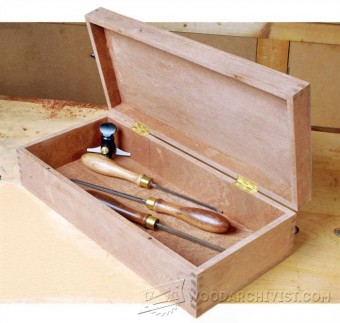 309-Classic Finger Joint Box