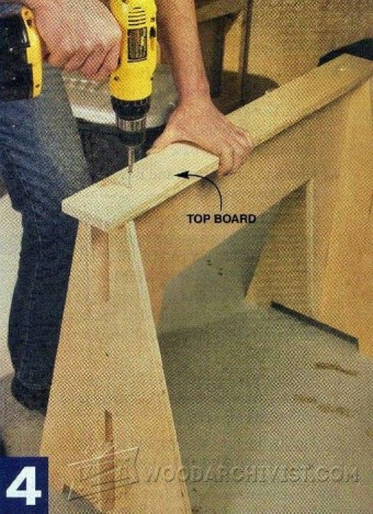 323-Knockdown Sawhorse Plans