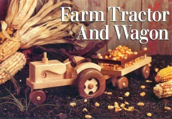 327-Wooden Tractor Plans