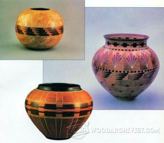 329-Bowl - Segmented Woodturning Plans