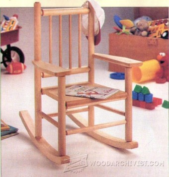 330-Childs Rocking Chair Plans