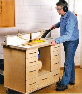 331-Router Table Plan
