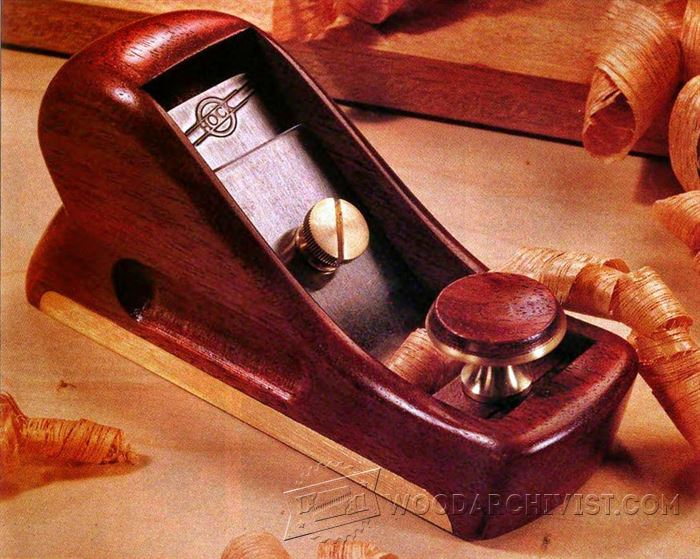 Diy Hand Plane Woodarchivist
