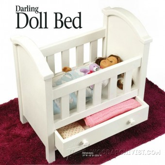 340-Doll Bed Plans