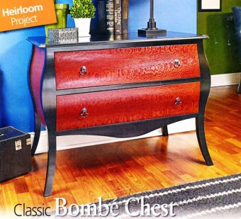 347-Classic Bombe Chest Plans