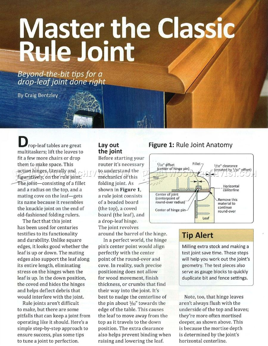 Master the Classic Rule Joint