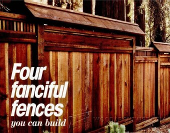 359-Wood Fence Plans