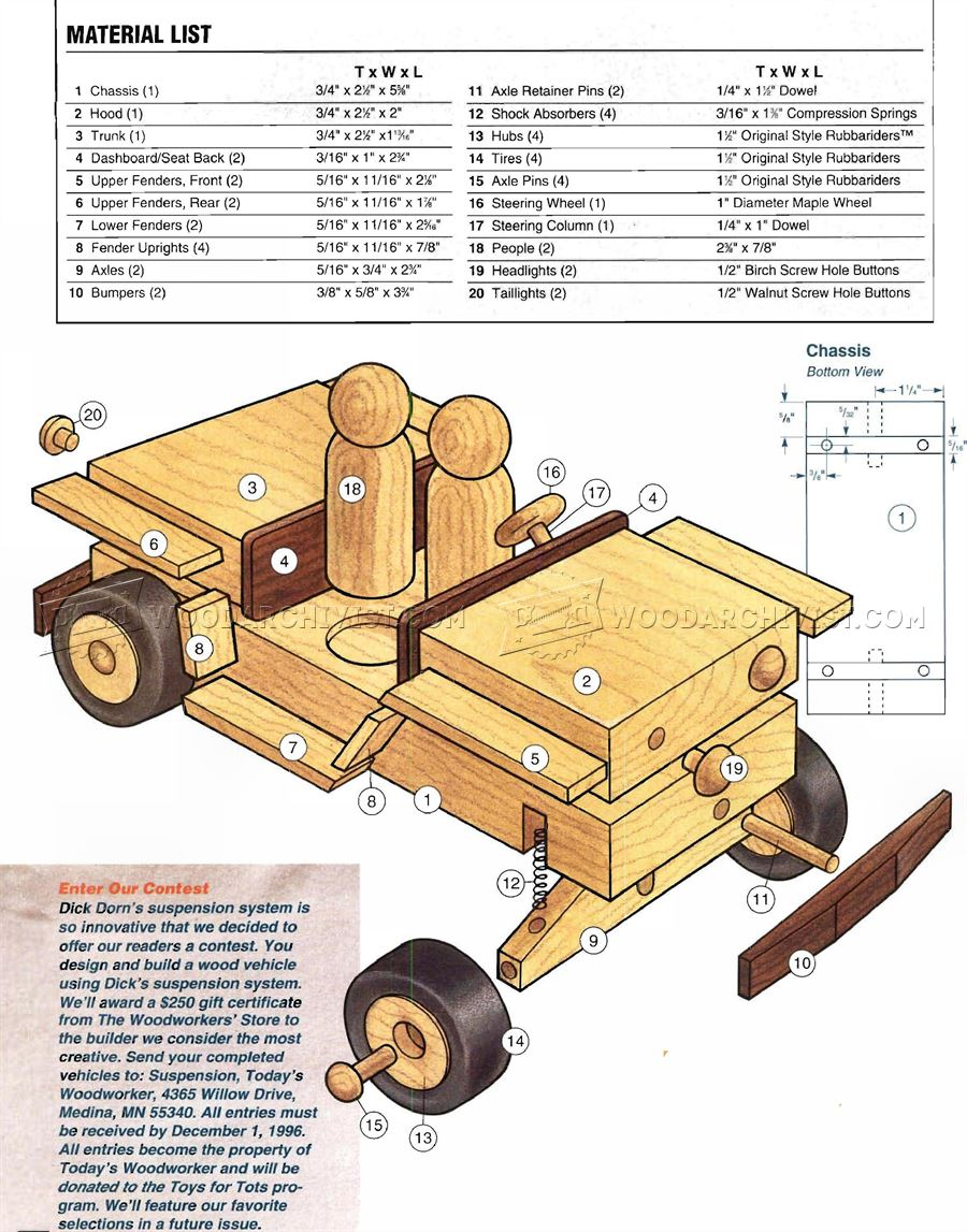 Wooden jeep plans woodarchivist for Toy plans