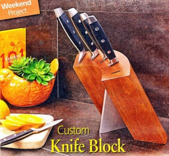 369-Custom Knife Block Plans