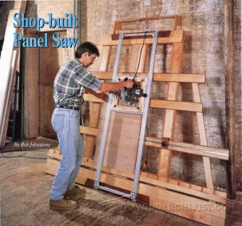 378-Vertical Panel Saw Plans