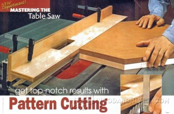 380-Table Saw Pattern Cutting