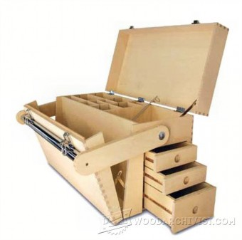 385-Plywood Tool Chest Plans