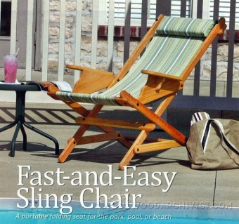387-Sling Chair Plans