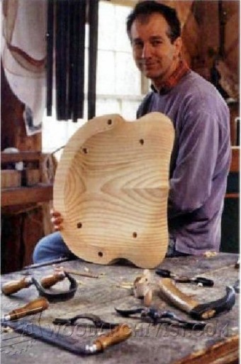 391-Carve a Softwood Seat