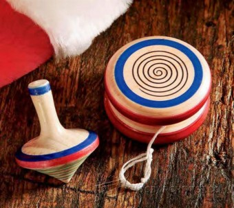 392-Woodturning Yo-Yo and Spinning Top