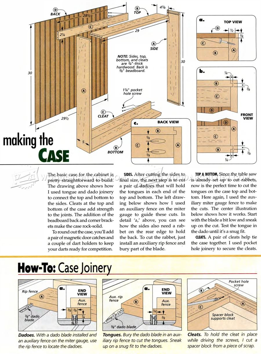Plans for making a wooden toy box Cabinets plans