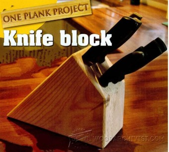 397-Knife Block Plans