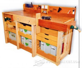 398-A Tailor-Made Workbench Plans